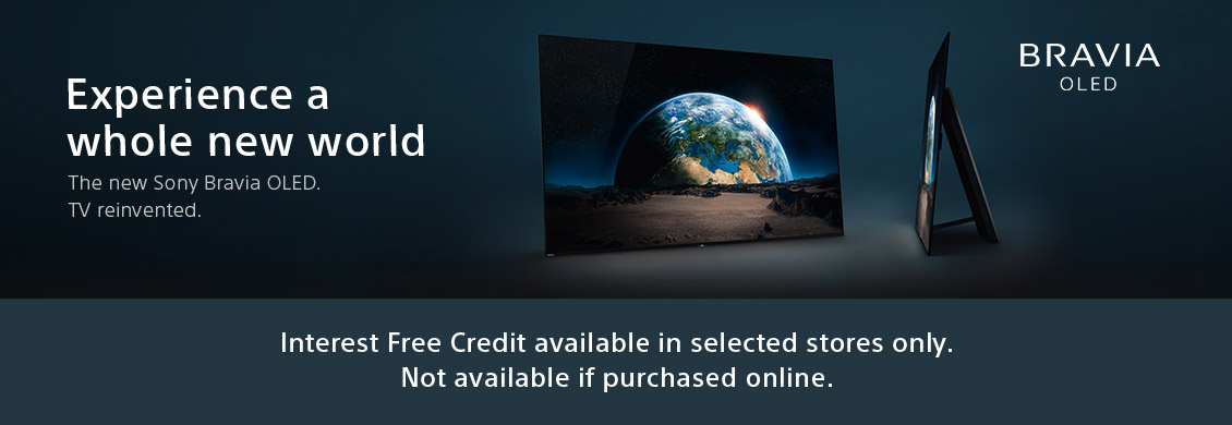 Our award winning OLED televisions, available to buy now!